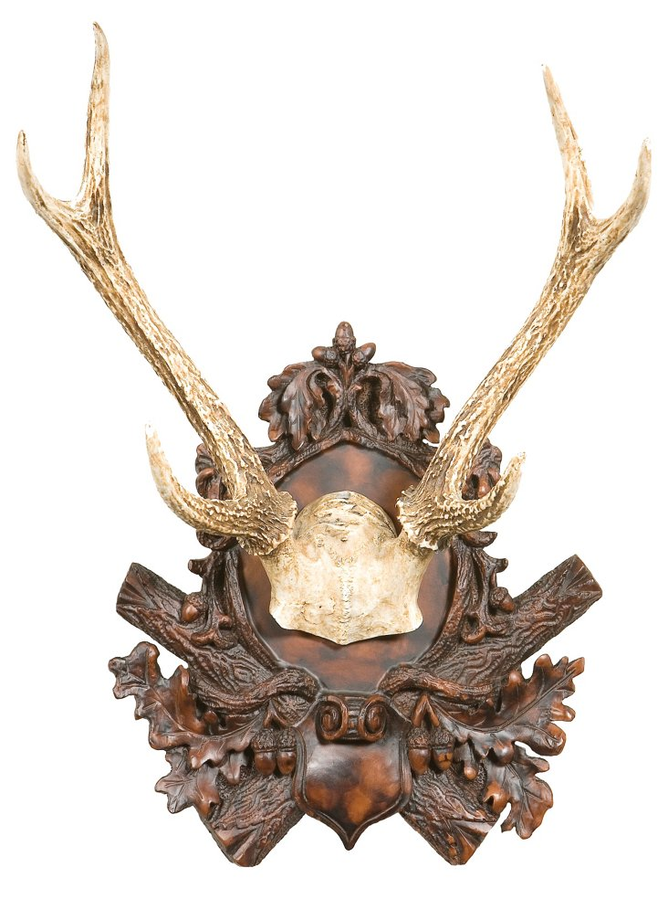 Antlers Wall Plaque