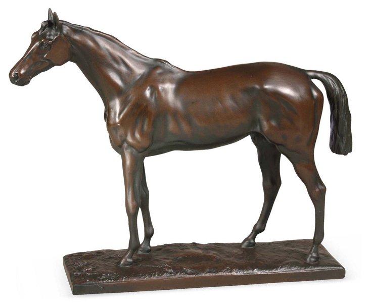 Thoroughbred Horse Sculpture