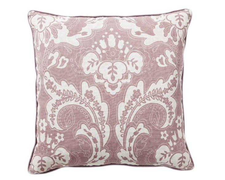Deluxe 22x22 Cotton Pillow, Purple