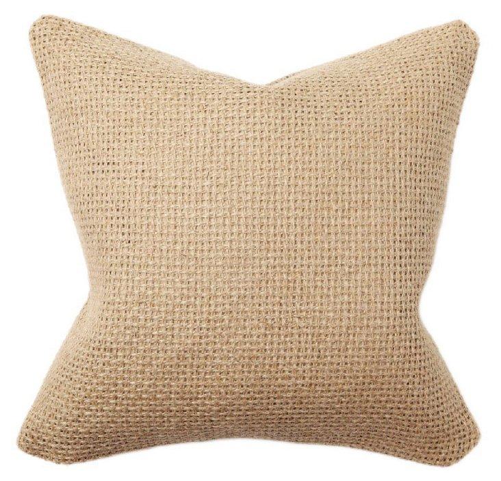 Berman 18x18 Pillow, Oatmeal