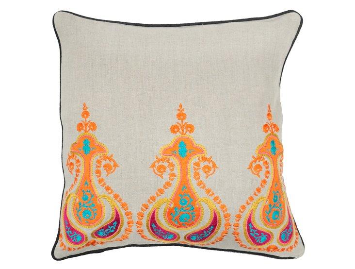Jaipur 18x18 Pillow, Multi