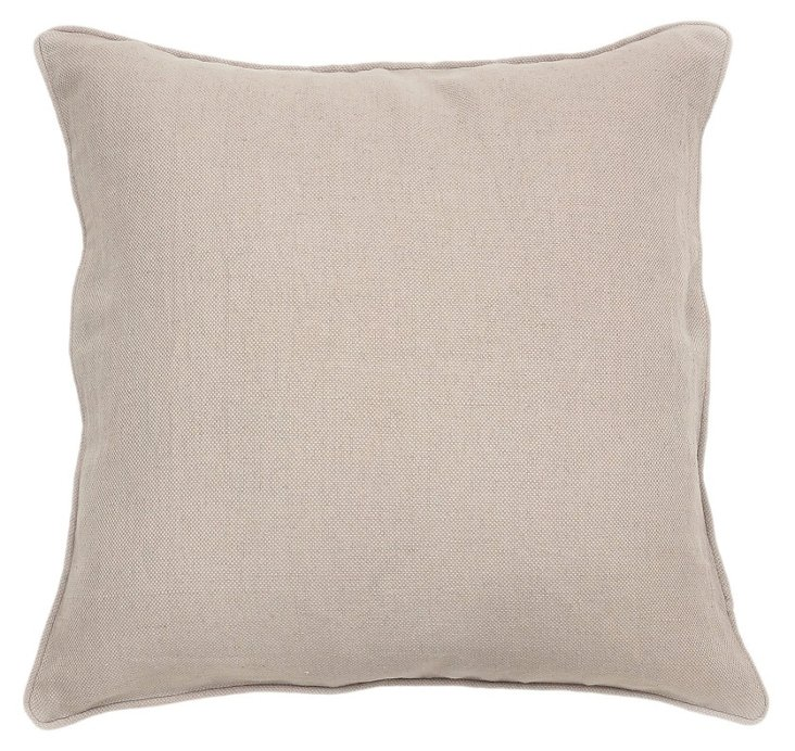 Seagram 22x22 Pillow, Sand