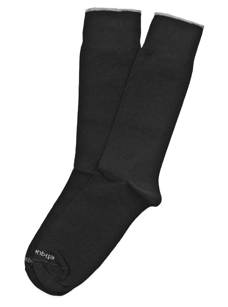 Basic Luxuries Socks, Tux Black