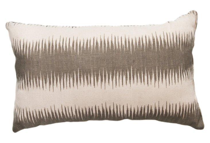 Stripe 12x20 Pillow, Gray
