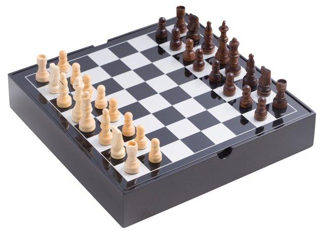 Multigame Set, Black
