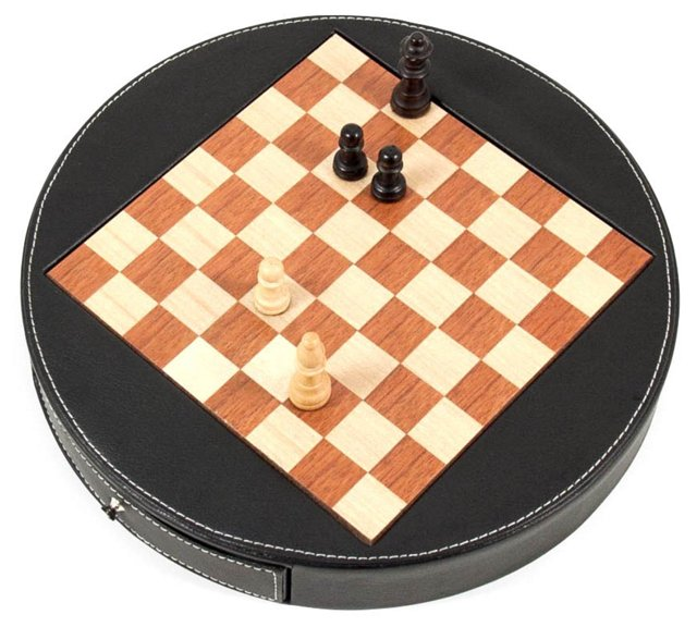 Chess Set, Black