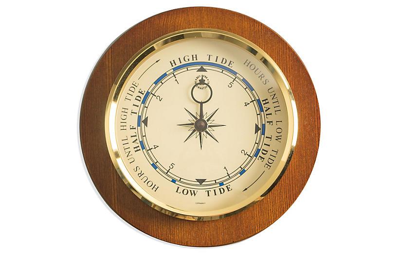 Tide Wall Clock