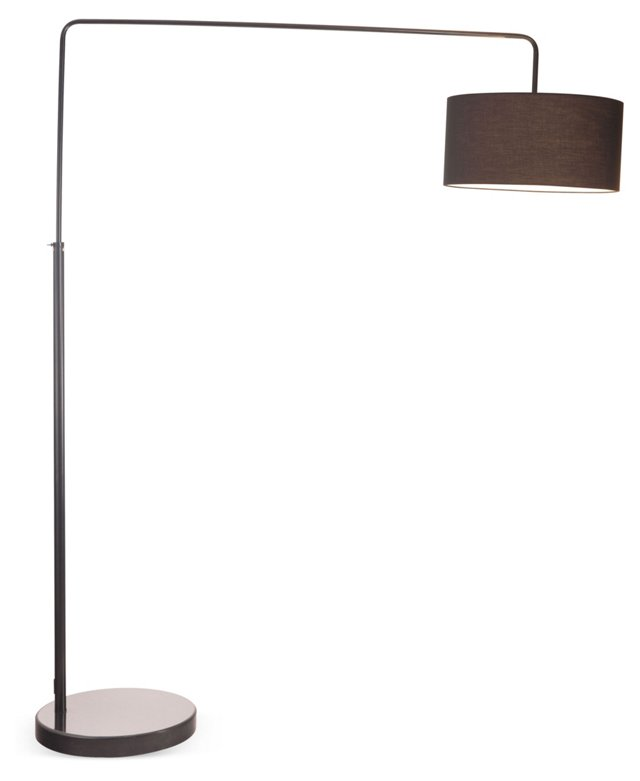 Vapor Floor Lamp, Black