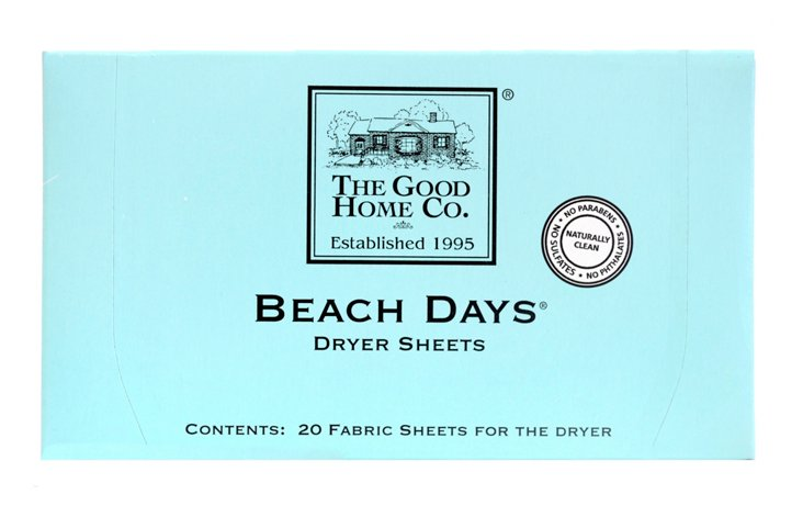 S/40 Beach Days Dryer Sheets