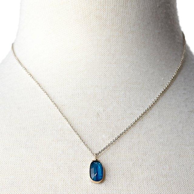 Rosecut Apatite Necklace