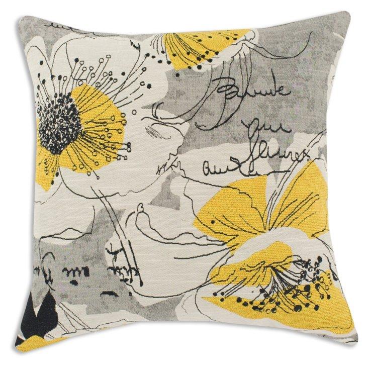 Perdue 17x17 Pillow, Black