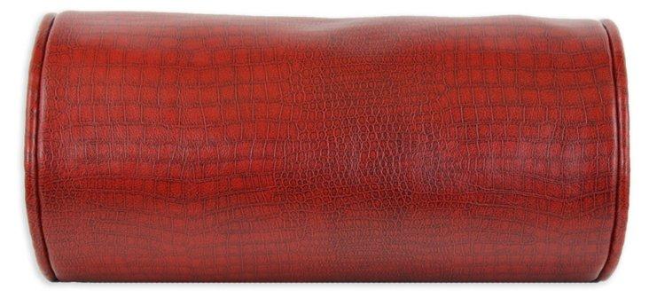 Tinga 5x13 Bolster Pillow, Red