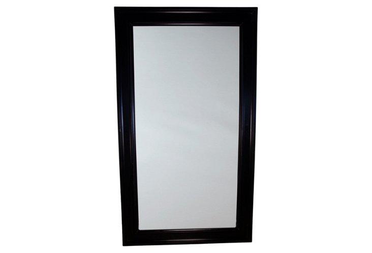Auburn Floor Mirror, Black
