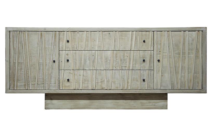 Ranunculus Sideboard, Graywash