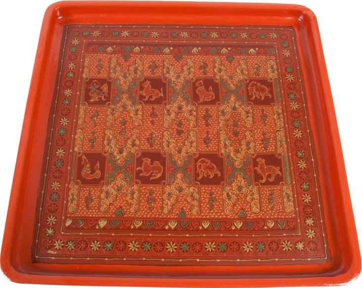 Large Burmese Tray