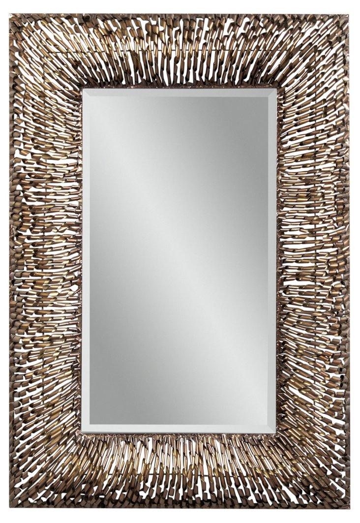 Steckborn Oversize Mirror, Copper