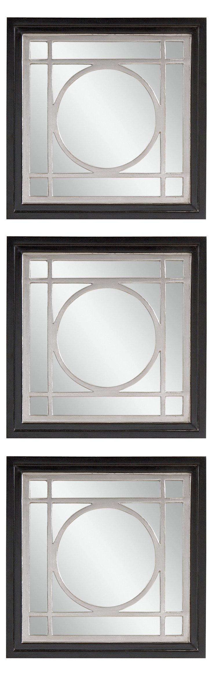 Rassi Wall Mirror Set