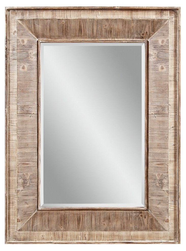 DISC-Bradford Wall Mirror, Natural