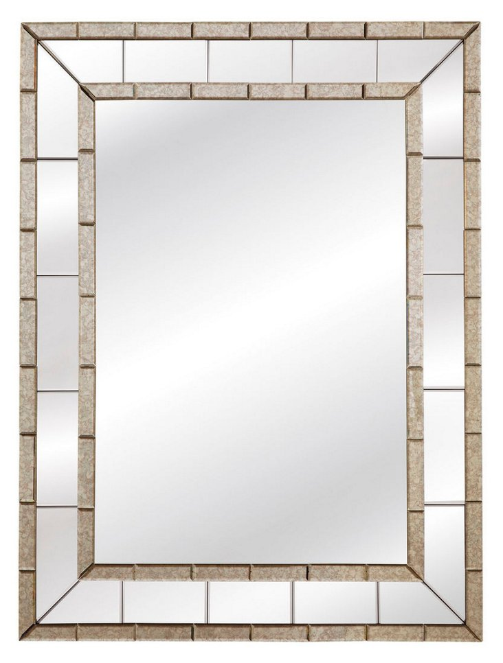 Caro Oversize Mirror, Clear