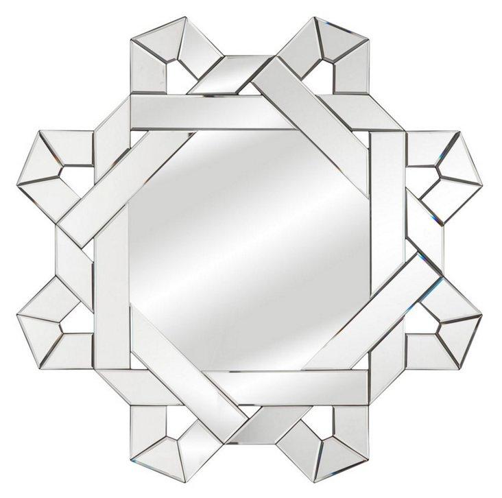 Stellan Wall Mirror, Clear