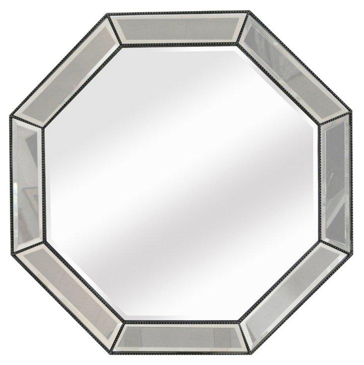 McLean Wall Mirror, Silver