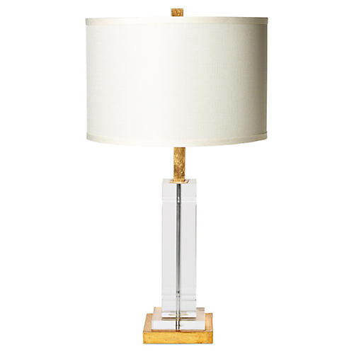 Avery Table Lamp, Crystal