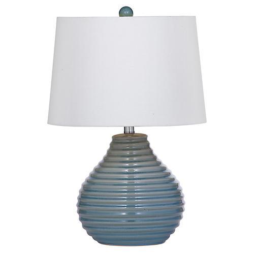Piper Table Lamp, Gray