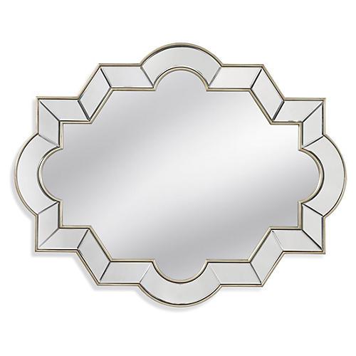 Geometric Mirror, Silver