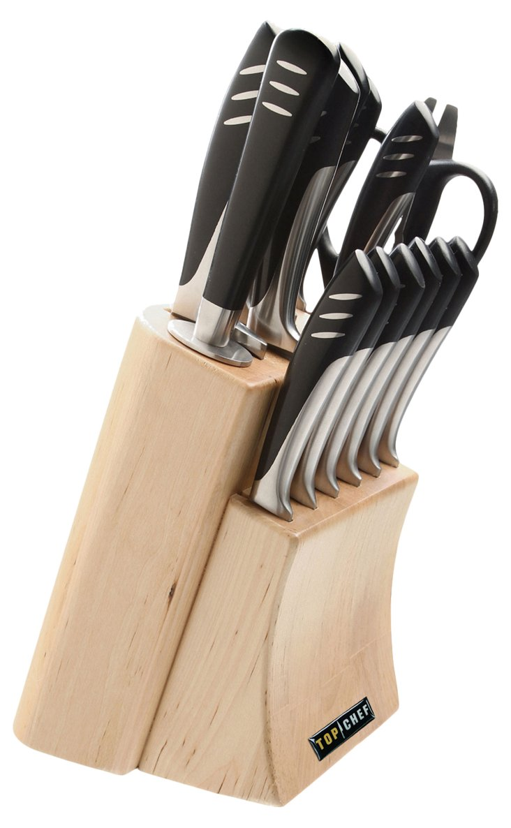 15-Pc Stainless Steel Knife Set
