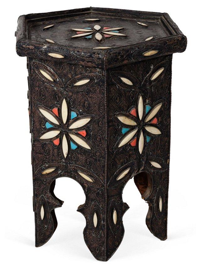 Vintage Moroccan Side Table