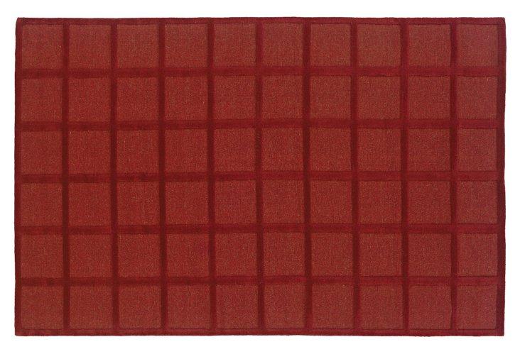 Savanna Rug, Red