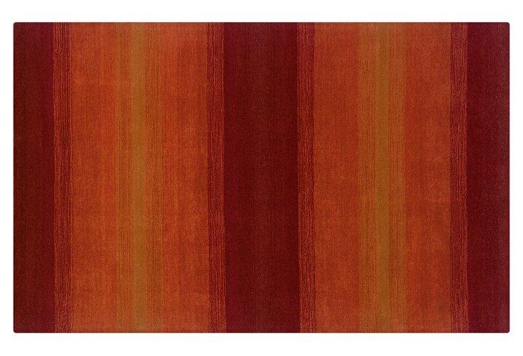 Peyton Rug, Crimson/Rust