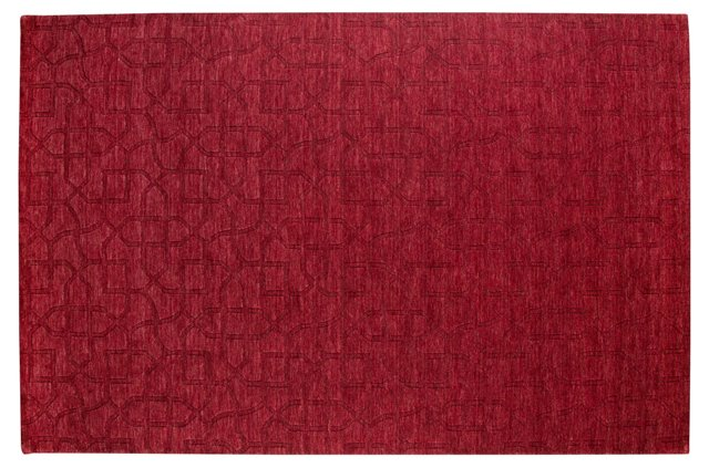 Pinellas Rug, Red