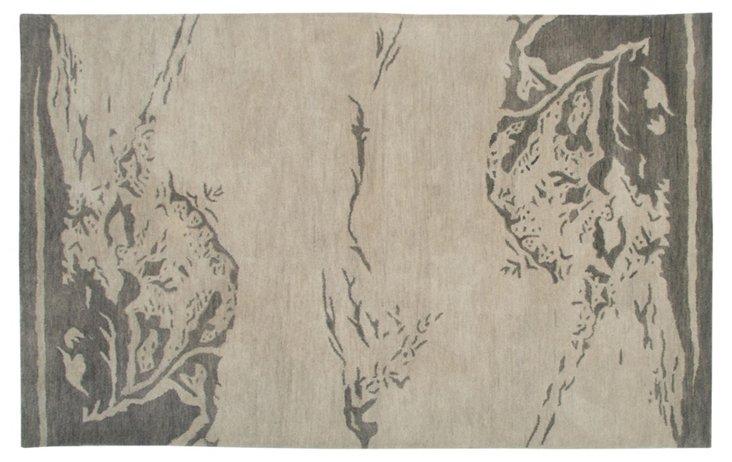 9' x 12' Stout Rug, Parchment/Gray