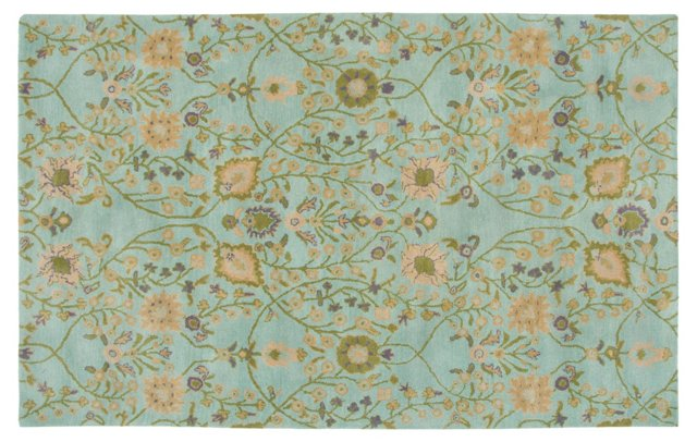 Alala Rug, Light Blue