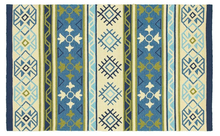 Theresa Outdoor Rug, Multi