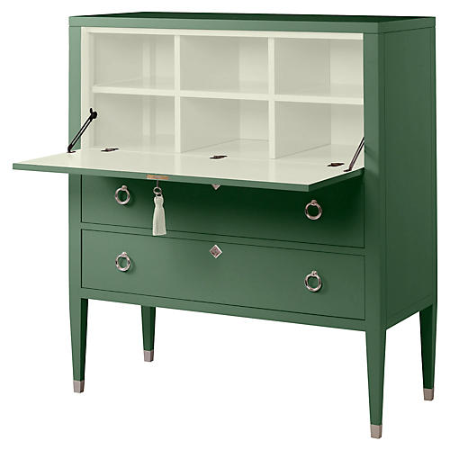 Easton Secretary, Peale Green/Cream