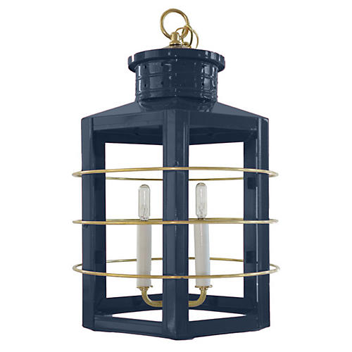 Nantucket Lantern, Navy
