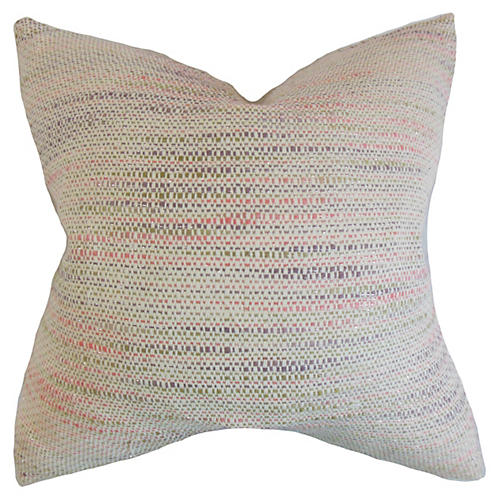 Talia 18x18 Pillow, Bubble Gum