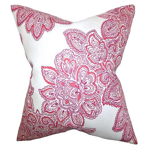 Maris 18x18 Pillow, Rose