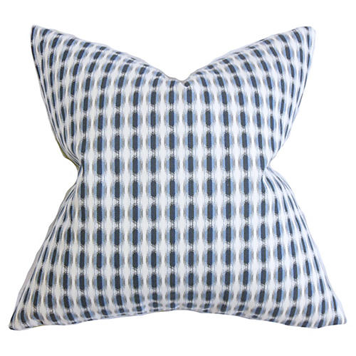 Dots Pillow, Indigo