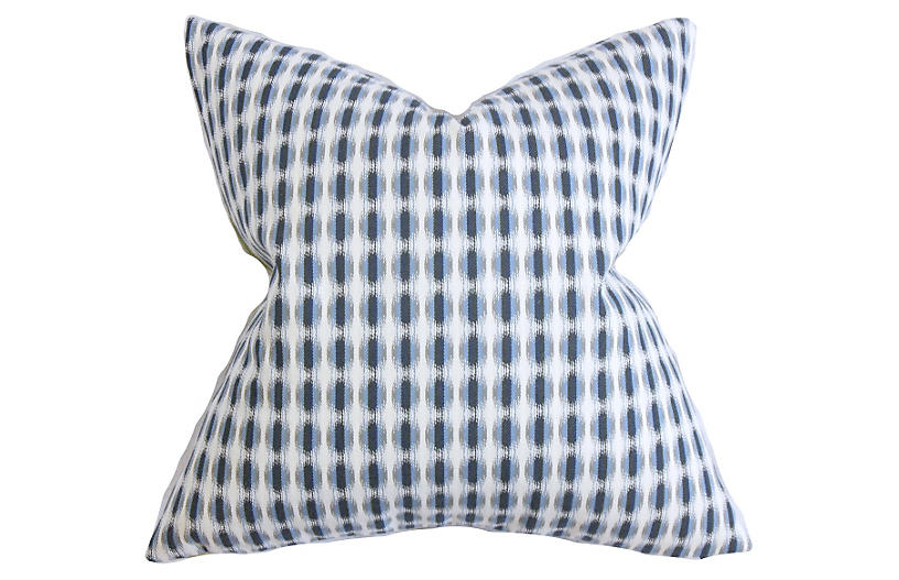 Dots Pillow, Indigo