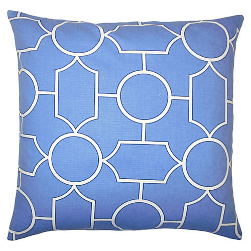 Samoset 20x20 Pillow, Blue