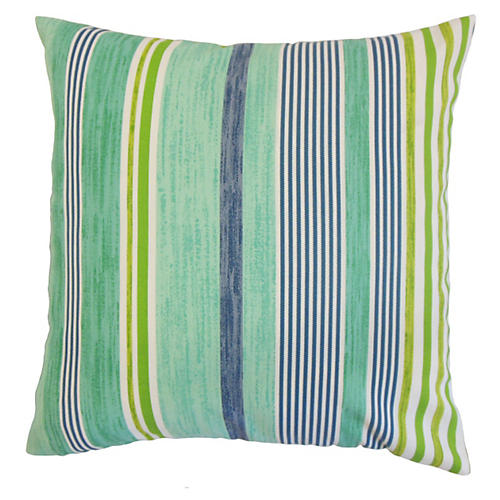 Baird 20x20 Outdoor Pillow, Green