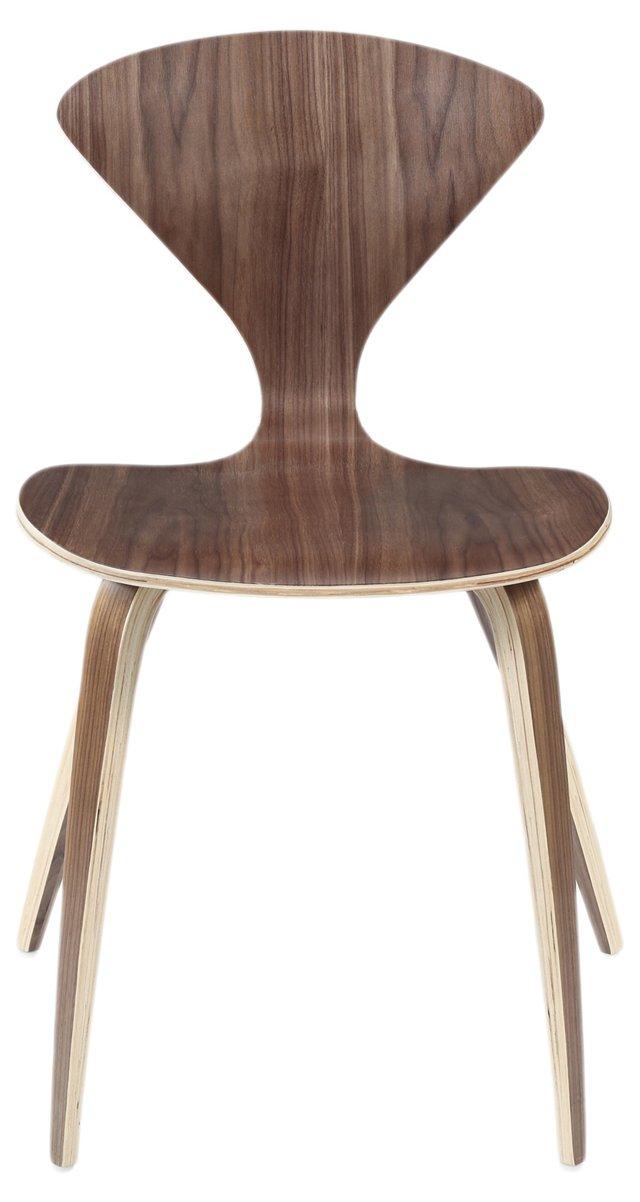 *IK Graham Stacking Chair, Walnut