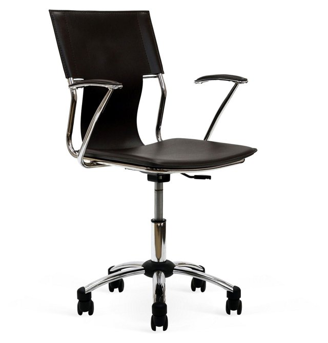 Allison Office Chair, Wenge