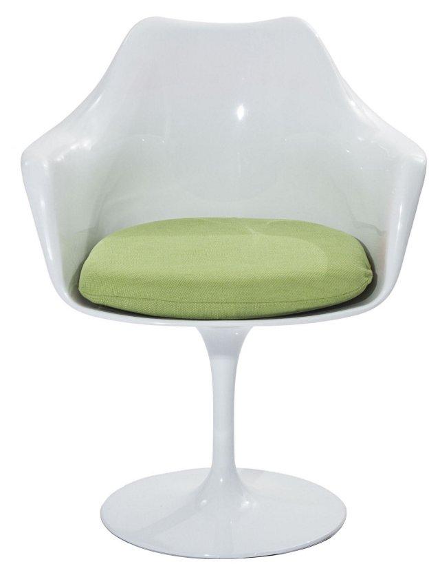 *IK Lippa Armchair, Green