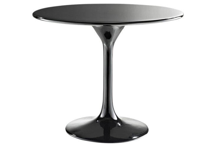 """*IK 24"""" Lippa Side Table, Black"""