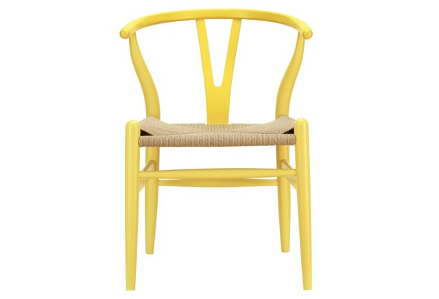 *IK Amish Chair, Yellow