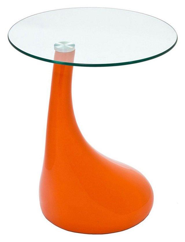 DNU, IK-Teardrop Side Table, Orange